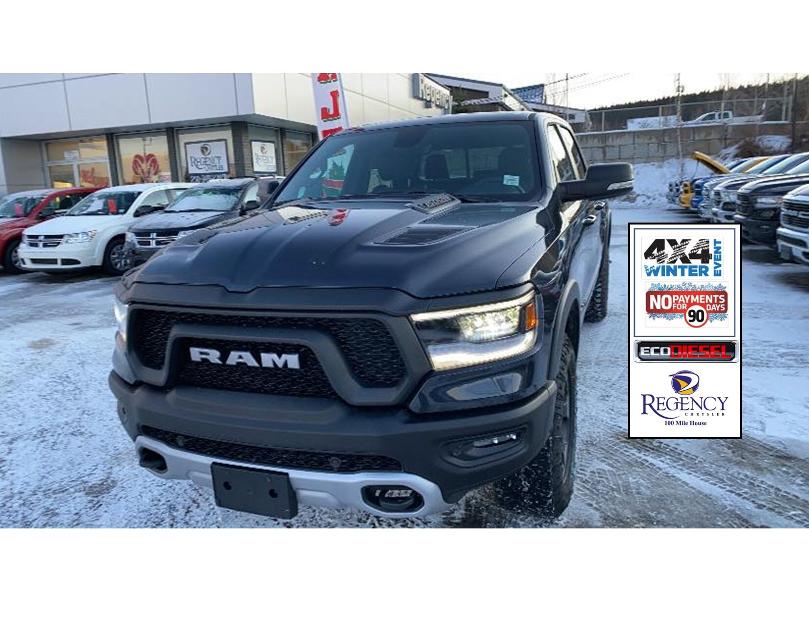 All New Ram 2020 Rebel 1500 Eco Diesel