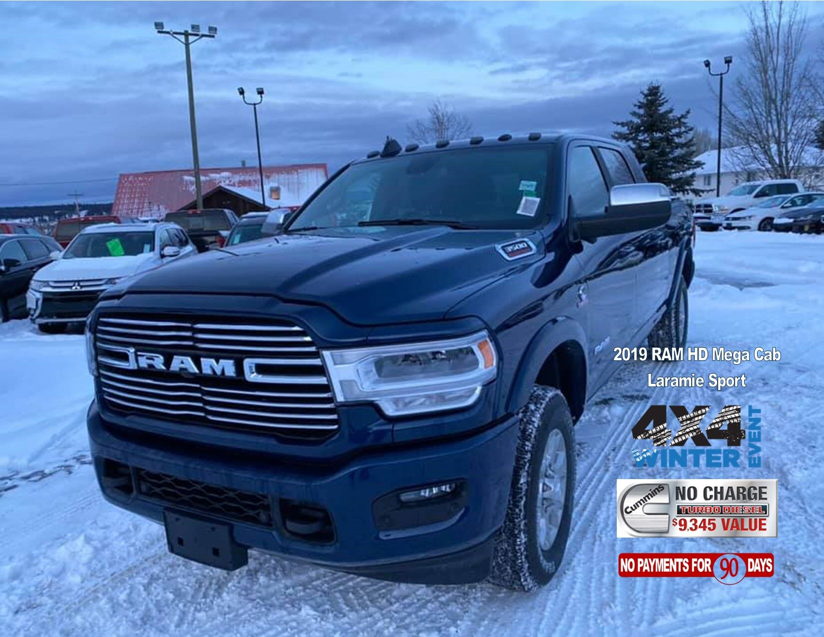 2019 Mega Cab Loaded Laramie Sport.