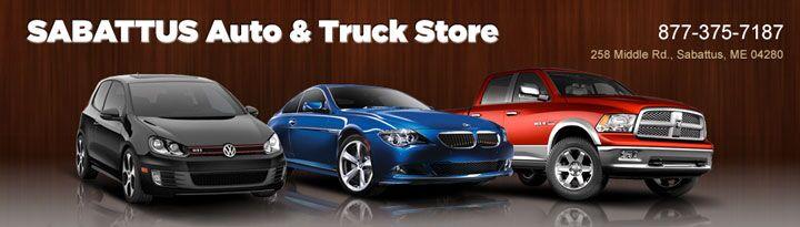 Used Car Dealership Sabattus ME Sabattus Auto And Truck Store - Auti car