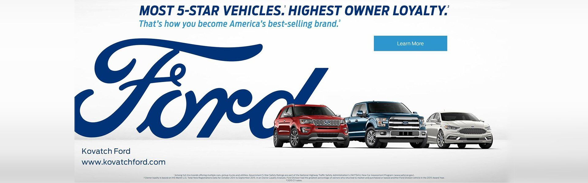 Kovatch Ford Reasons to buy
