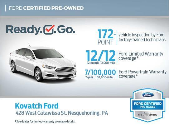Kovatch Ford Certified Preowned Fords