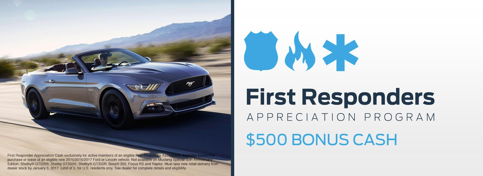 Kovatch Ford First Responder Discounts