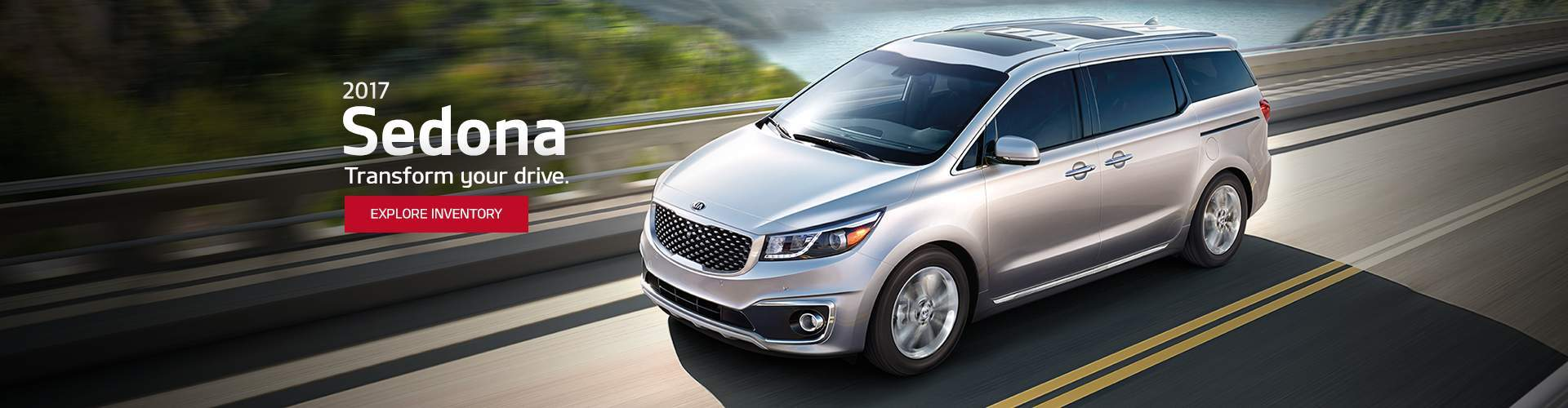 New Kia Sedona at Courtesy Kia