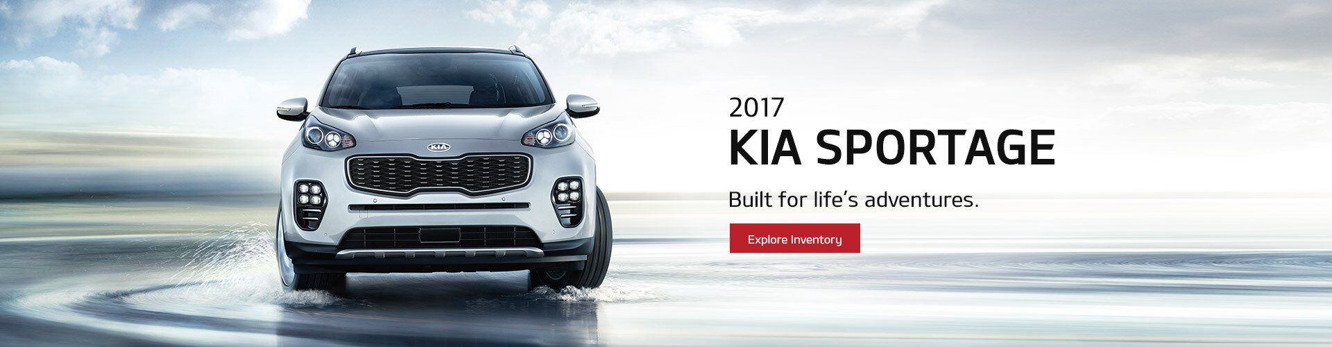 New Kia Sportage at Courtesy Kia
