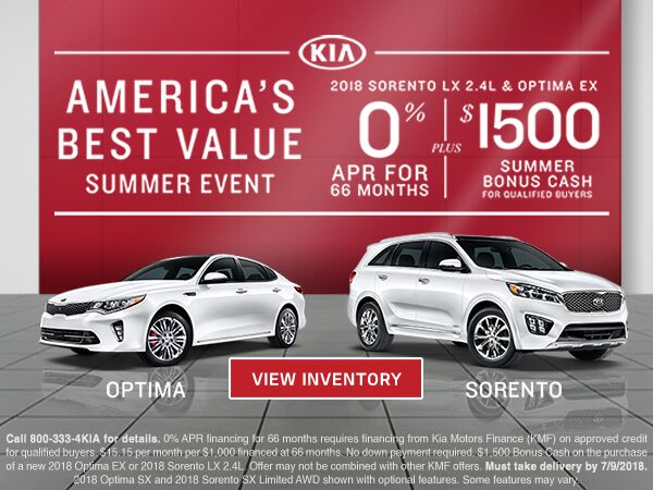 America's Best Value Summer Event at Courtesy Kia
