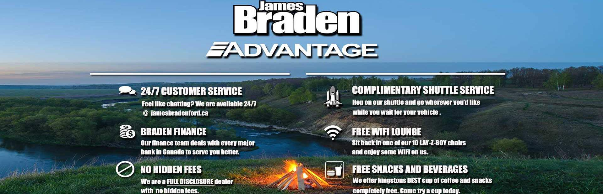 BRADEN ADVANTAGE & Ford Dealership Kingston ON | Used Cars James Braden Ford markmcfarlin.com