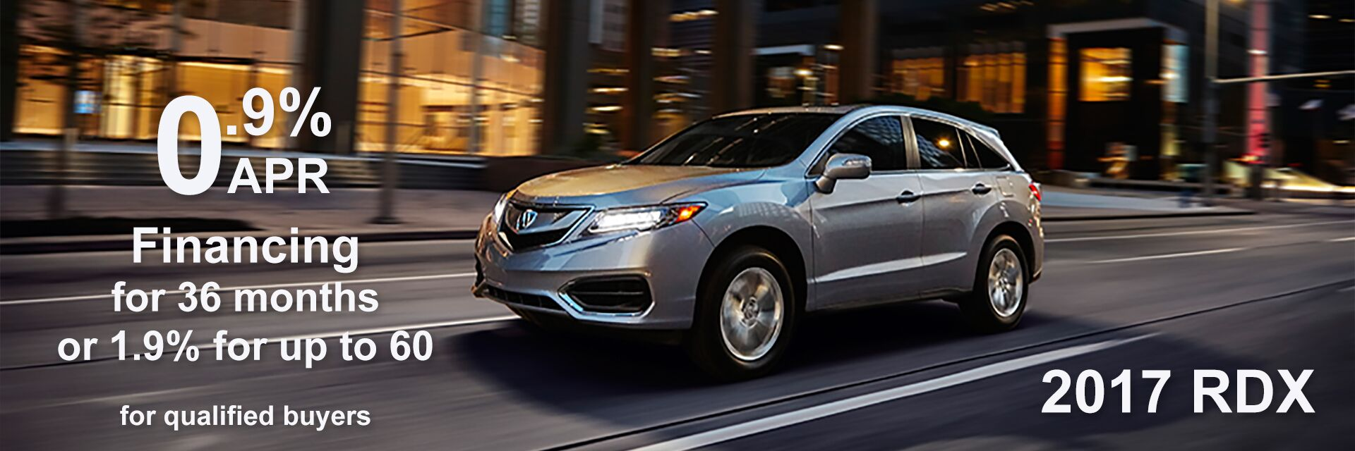 RDX 0.9 thru July
