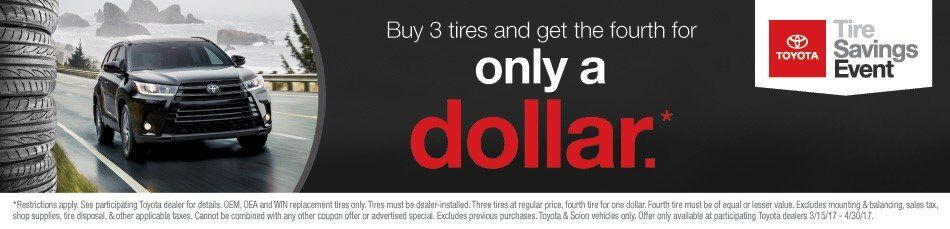 Tire Promotion 4-30