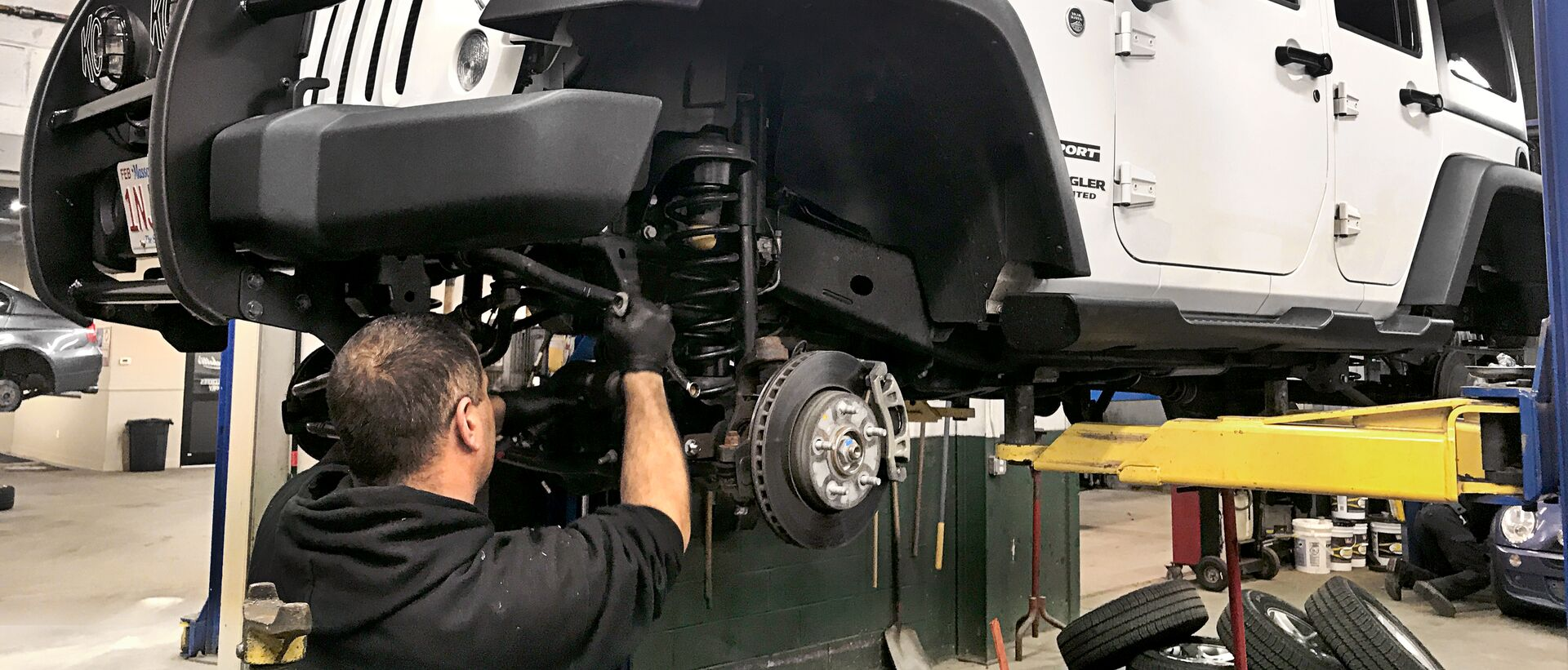 Jeep Suspension Work