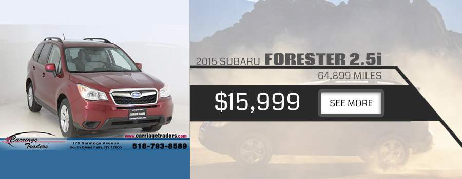 2015 Subaru Forester Carriage Traders