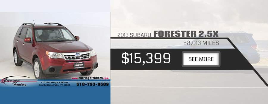 2013 Subaru Forester Carriage Traders