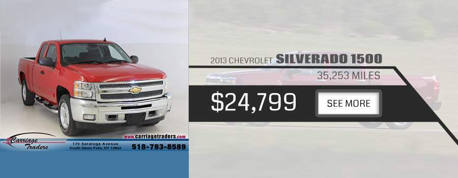 2013 Chevy Silvardo 1500 Carriage Traders