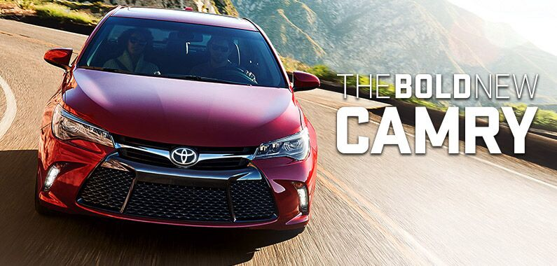 Toyota Bold New Camry