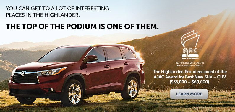 Toyota Highlander Reward
