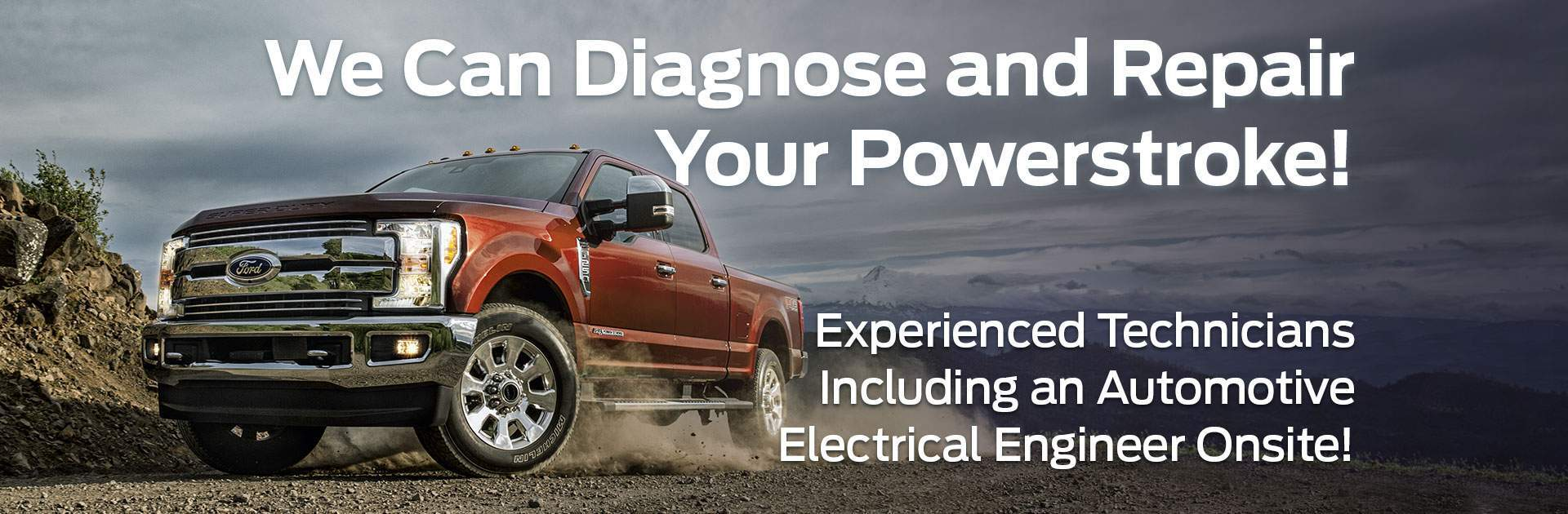 Powerstroke Diagnose and Repair