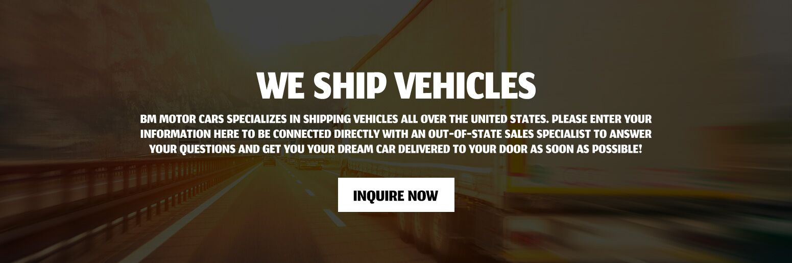 We Ship Vehicles