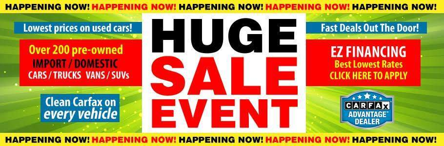 HUGE SALE EVENT