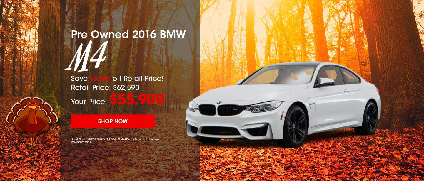 Pre Owned 2016 BMW M4