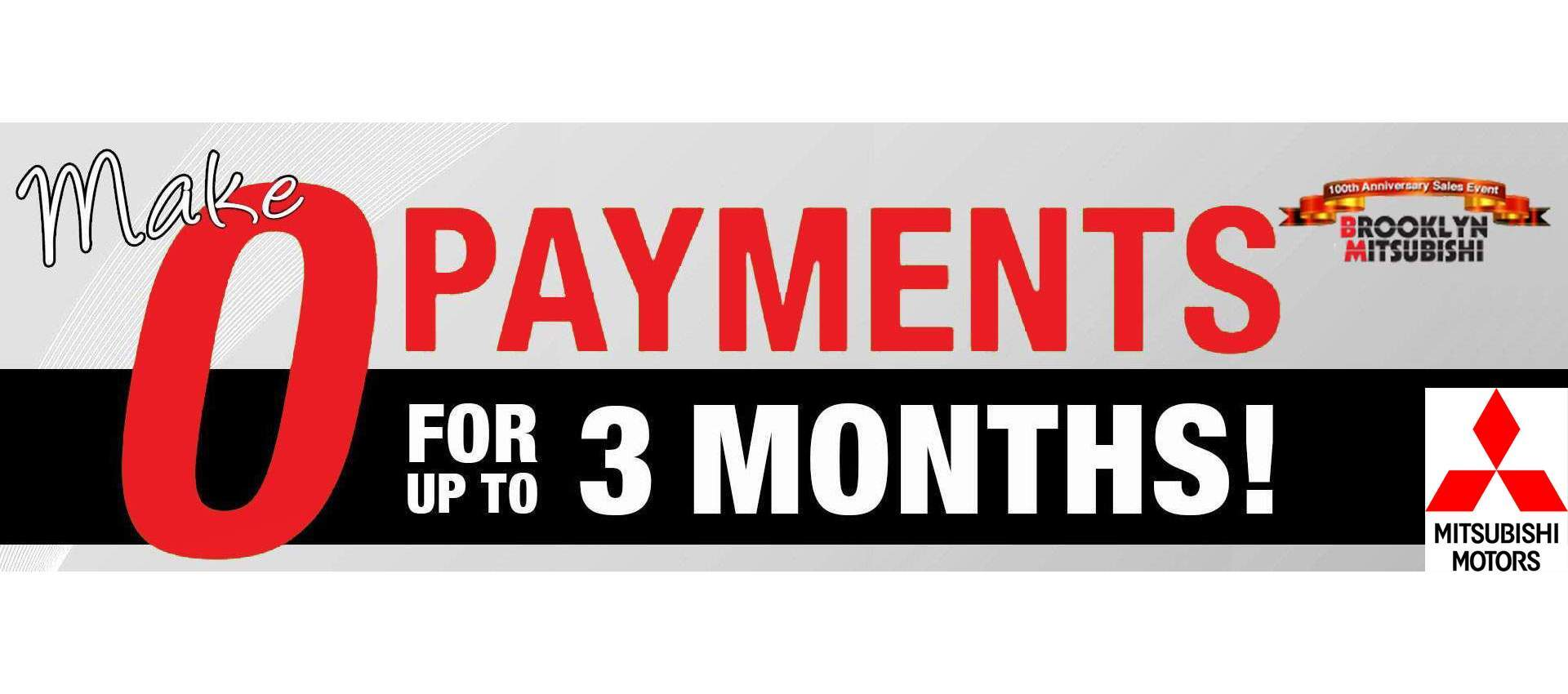 0 Payments For 3 Months