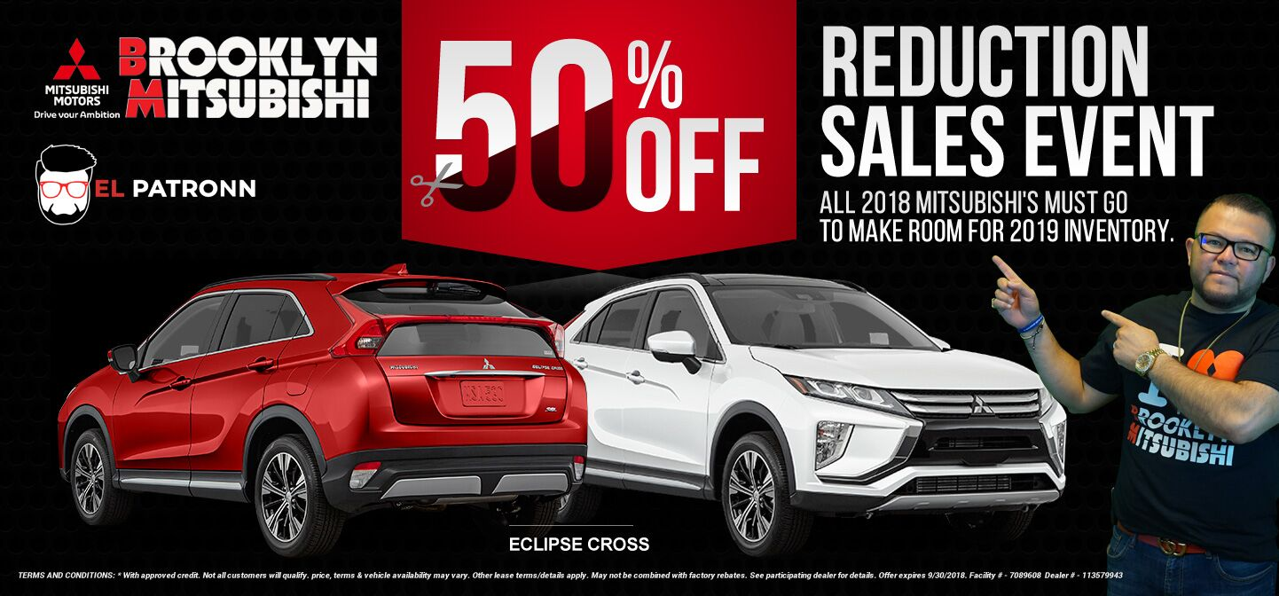 Eclipse Cross 50% Reduction Event