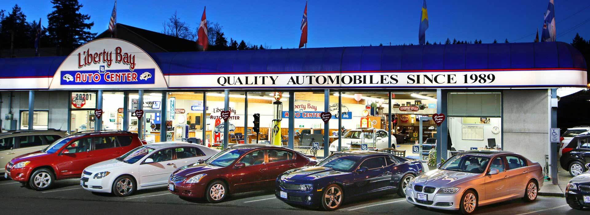 used car dealership in poulsbo wa liberty bay auto center. Black Bedroom Furniture Sets. Home Design Ideas