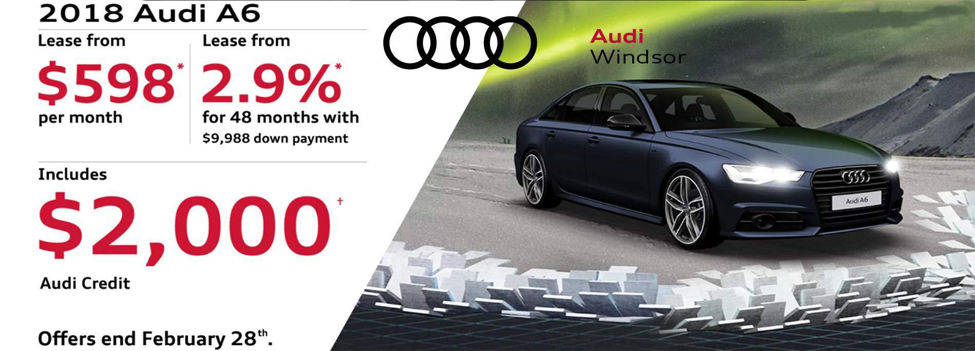 Audi Windsor February 2018 Sales Event