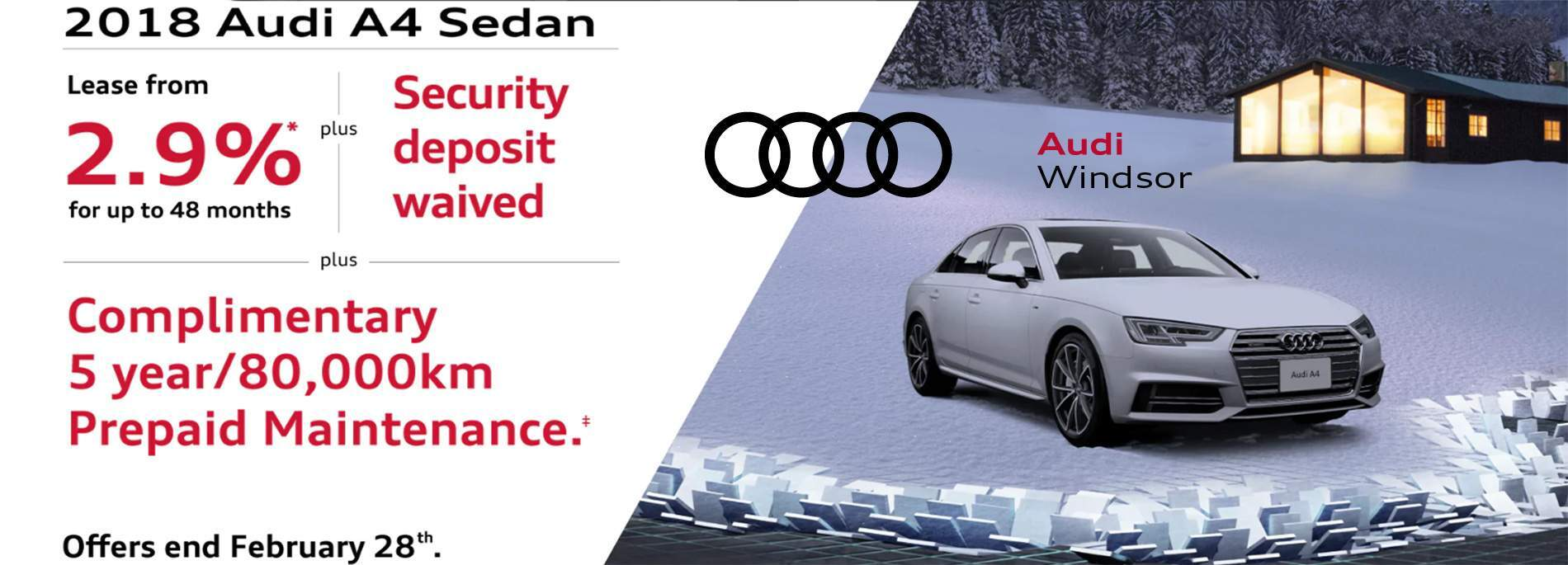 Audi Windsor February 2018 Sales Event 2