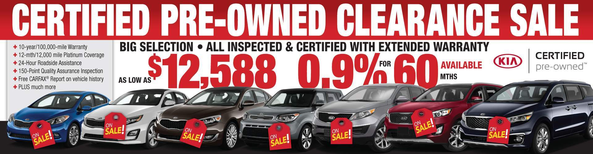 Huge Kia Certified Sale