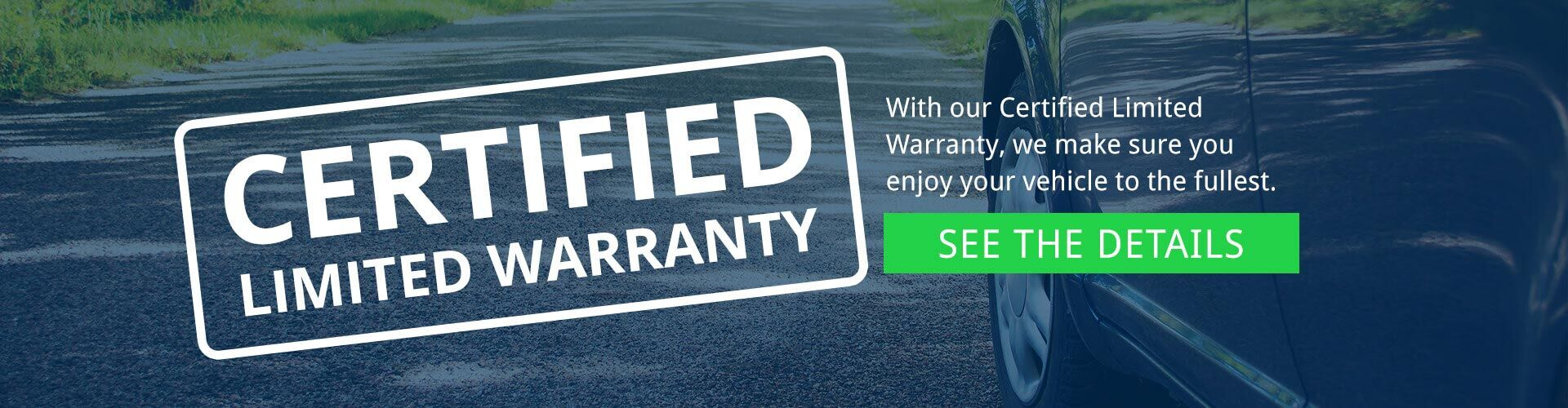 Certified Limited Vehicle Warranty Miami FL