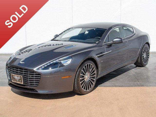 2016 Rapide S Rear Seat Entertainment