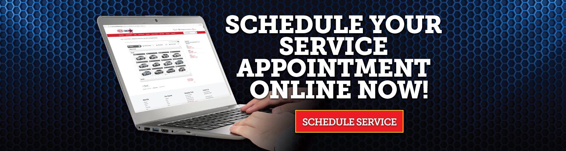 Schedule Service Online at Cartown Kia