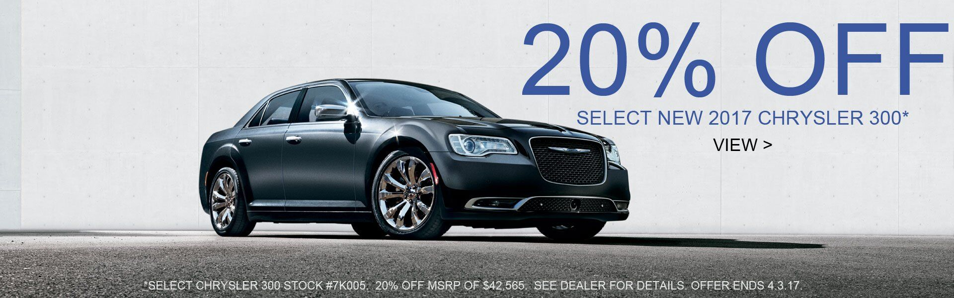 20% OFF Chrysler 300 Pelletier Motors