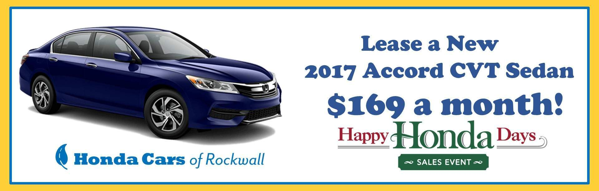 HHD Accord Lease