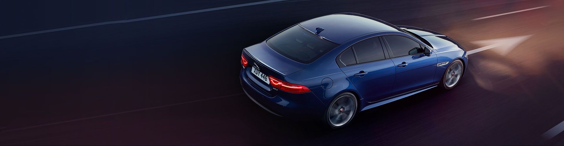 New Jaguar XE at Jaguar Ventura