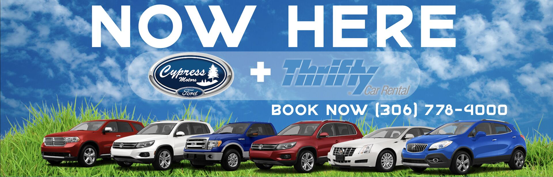 Thrifty Car Rental now here