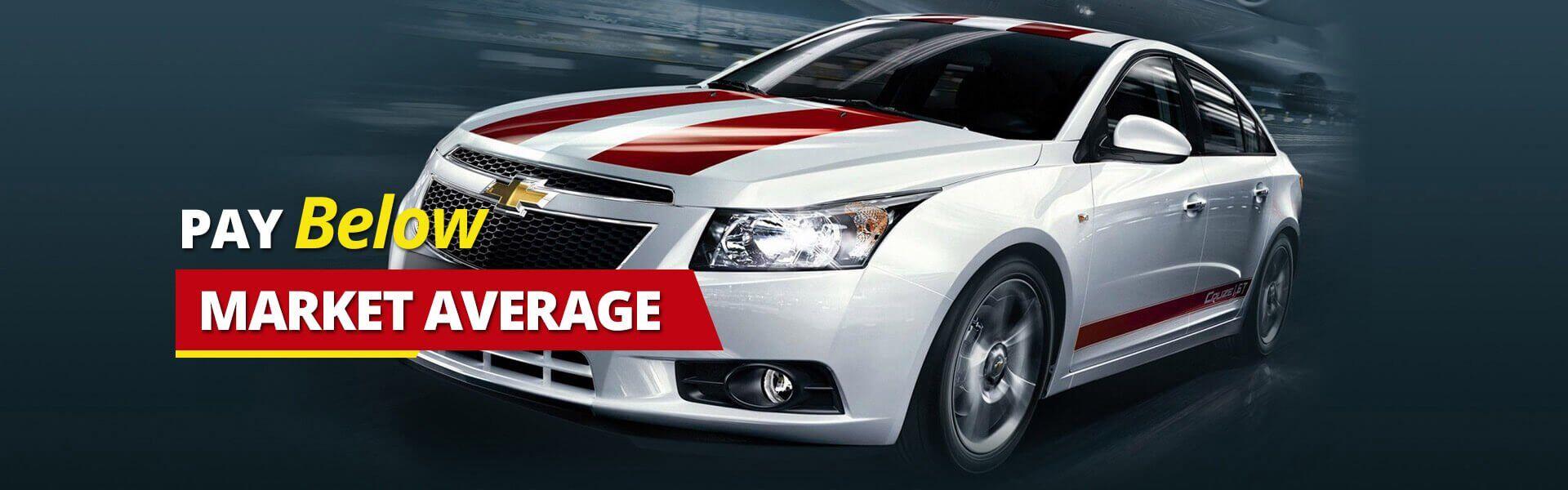 Pay below market average at car vision
