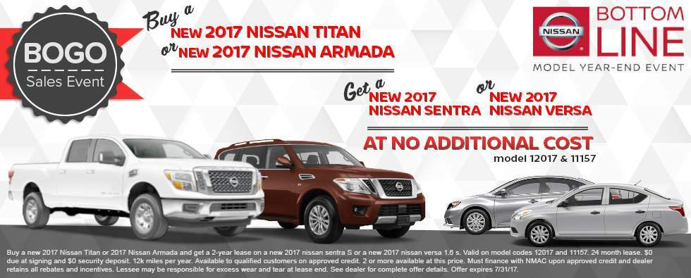 Buy One Get One at Charleston Nissan