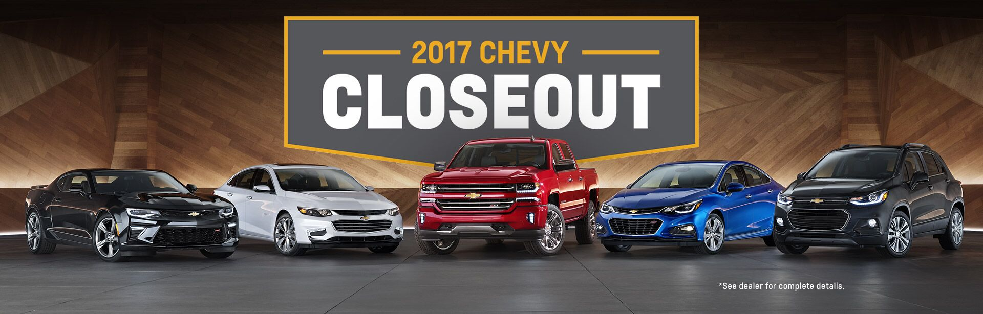 2017 Chevrolet Closeout