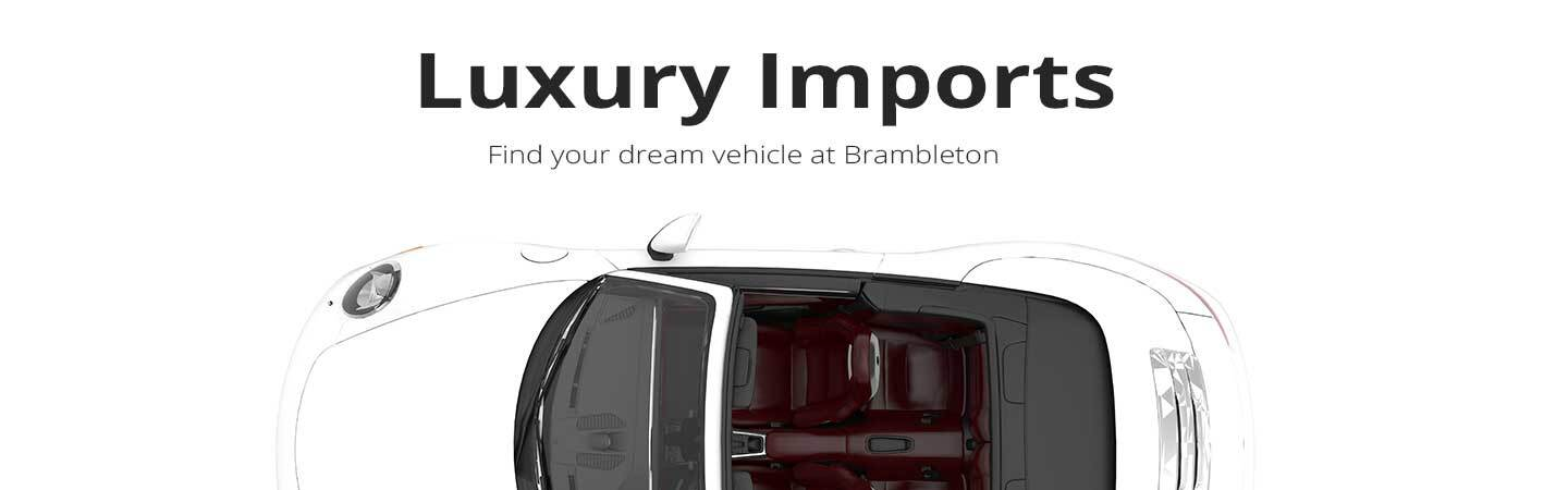 Luxury imports at Roanoke, VA
