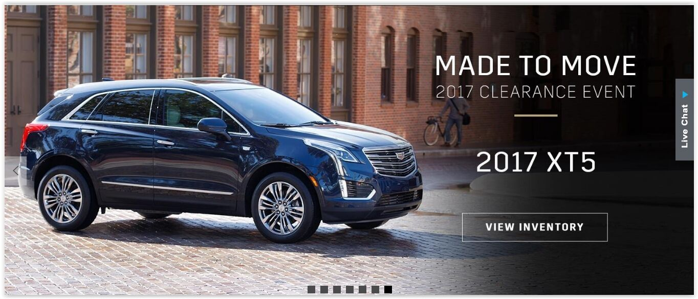 Made to Move Cadillac 2017 XT5