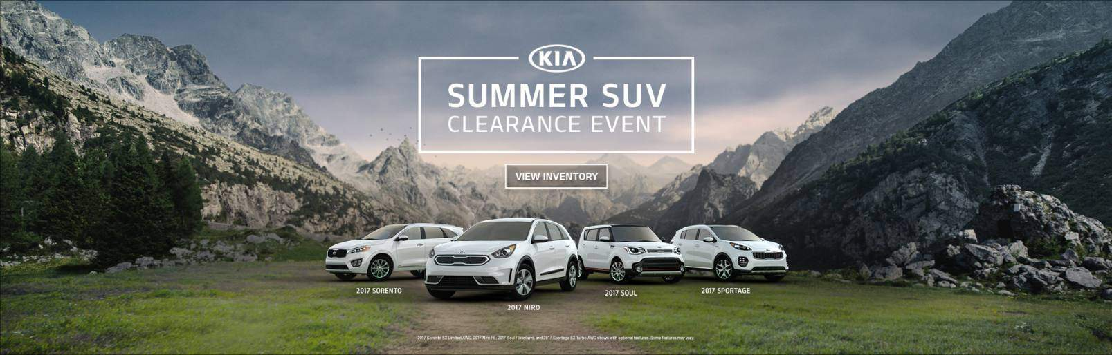 KIA SUV Summer Clearance