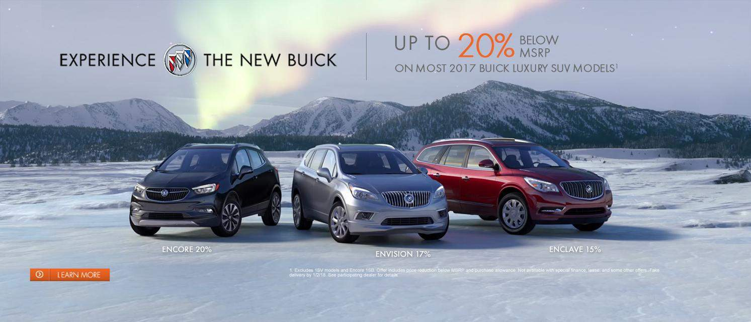 Buick 20% Off