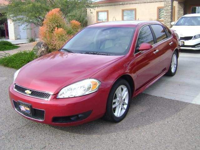 2014 Chevrolet Impala Limited (fleet-only) LTZ RED LIMITED