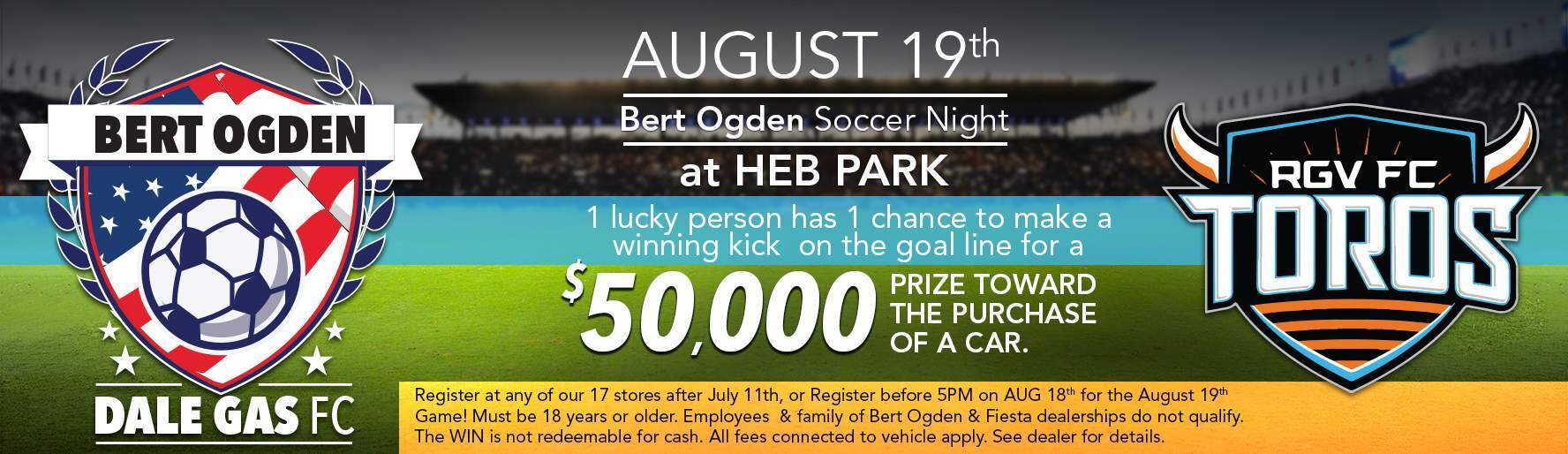 Bert Ogden Soccer Night