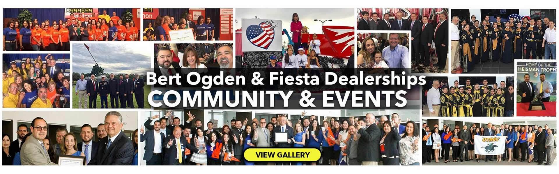 Bert Ogden Auto Group loves our community