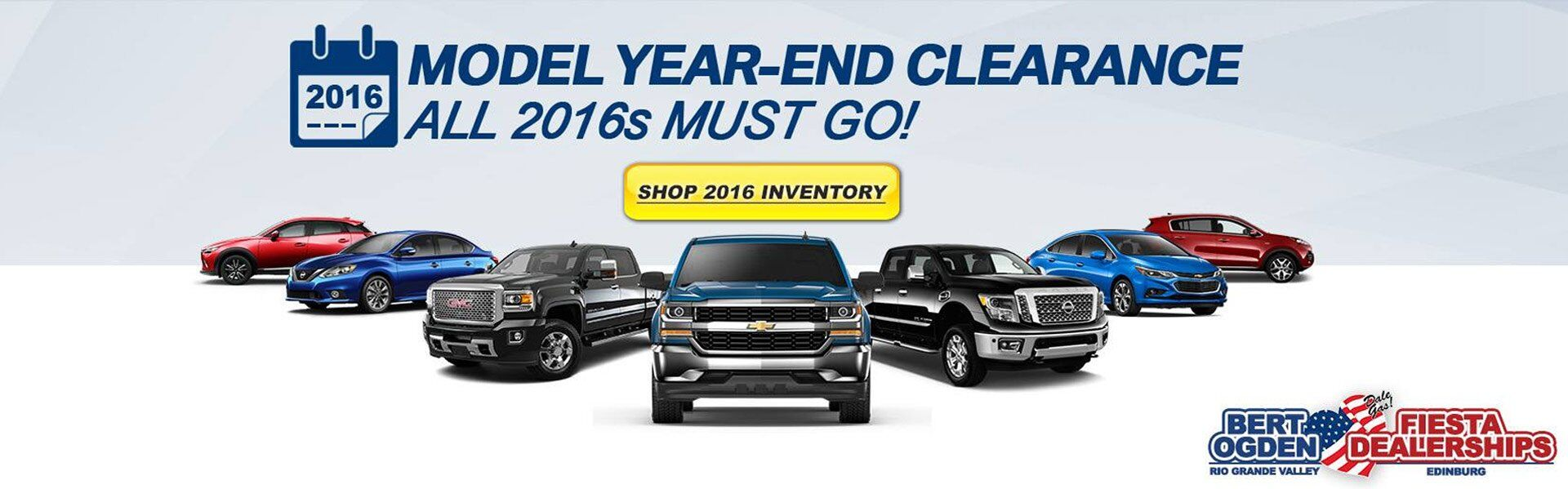 Model Year End Clearance at Bert Ogden Auto Group