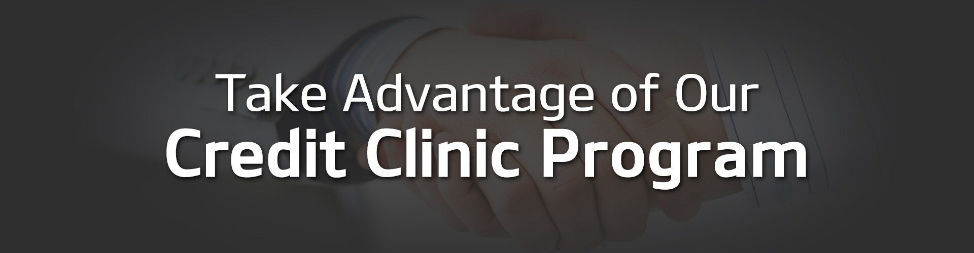 Riverchase Credit Clinic Program