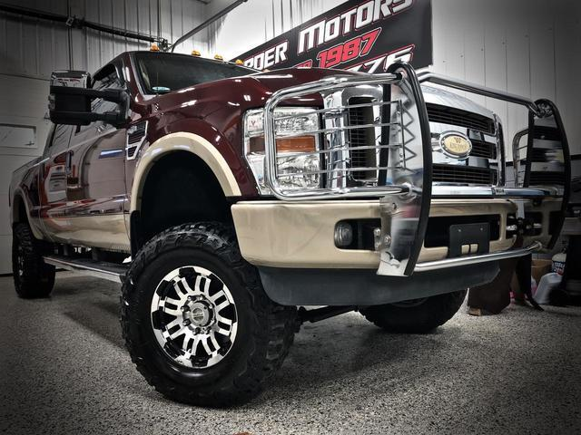 2009 FORD F250 CREW CAB 4X4 King Ranch