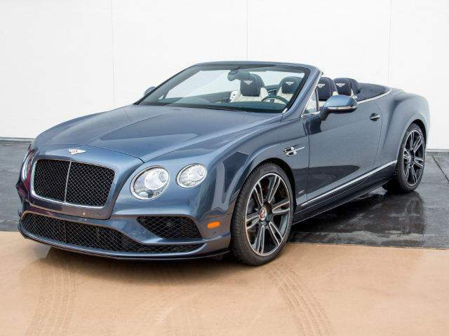2017 Continental GT V8 S Convertible