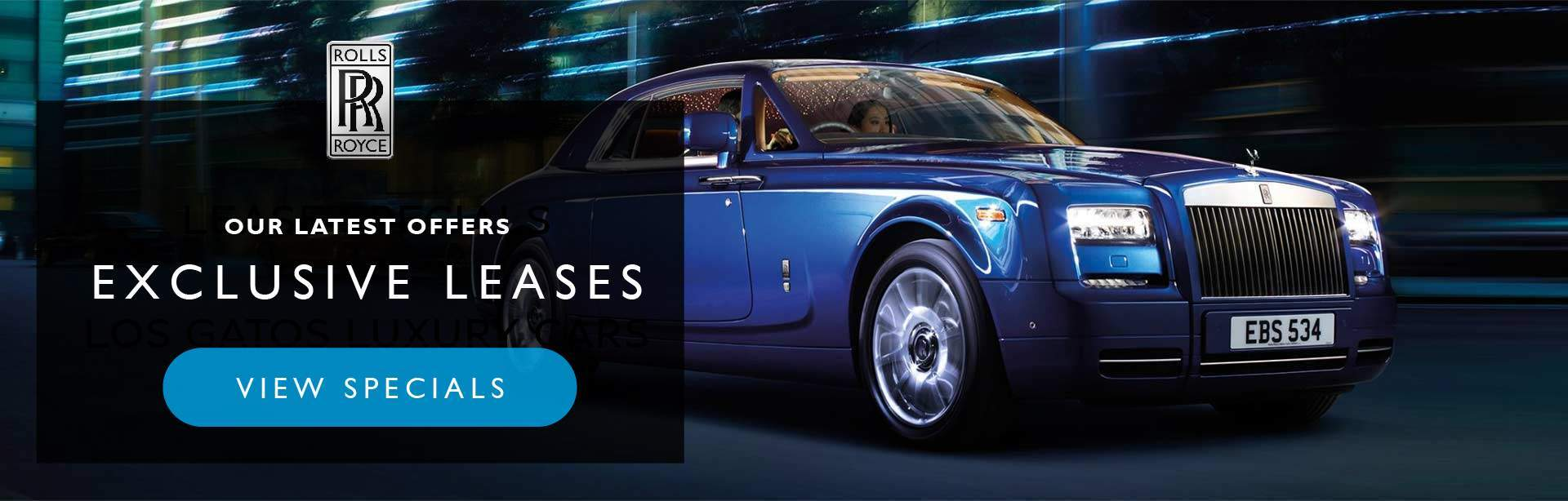 Rolls Royce Lease Specials